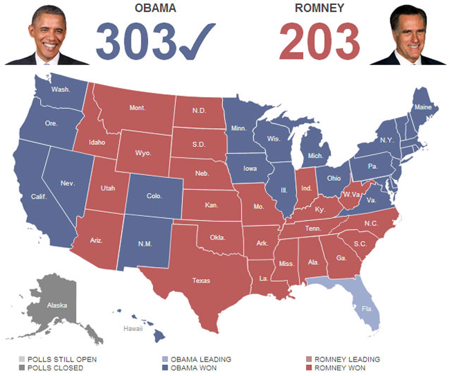 Re-Election Obama 2012